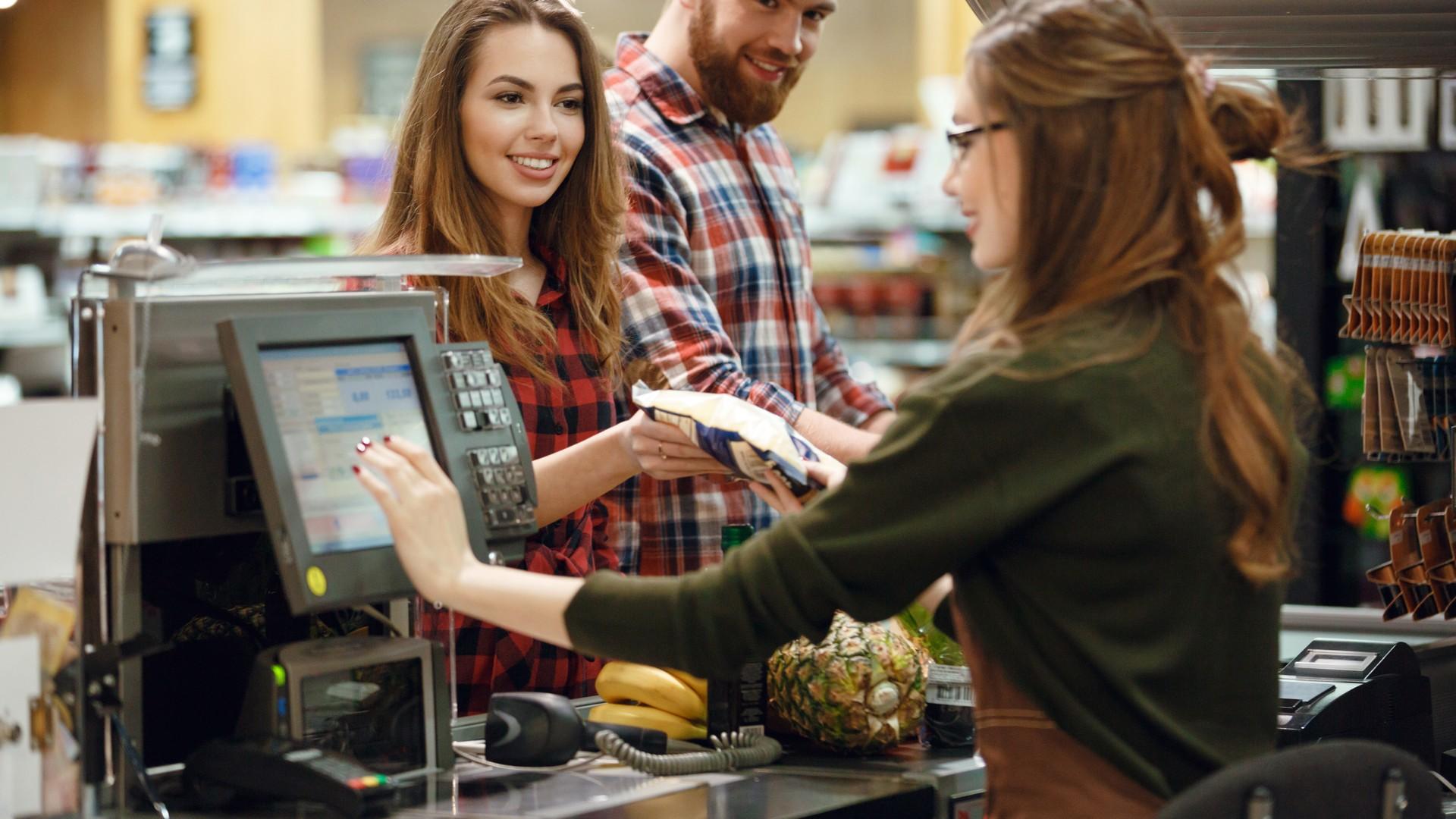 Bargeldabwicklung im Einzelhandel