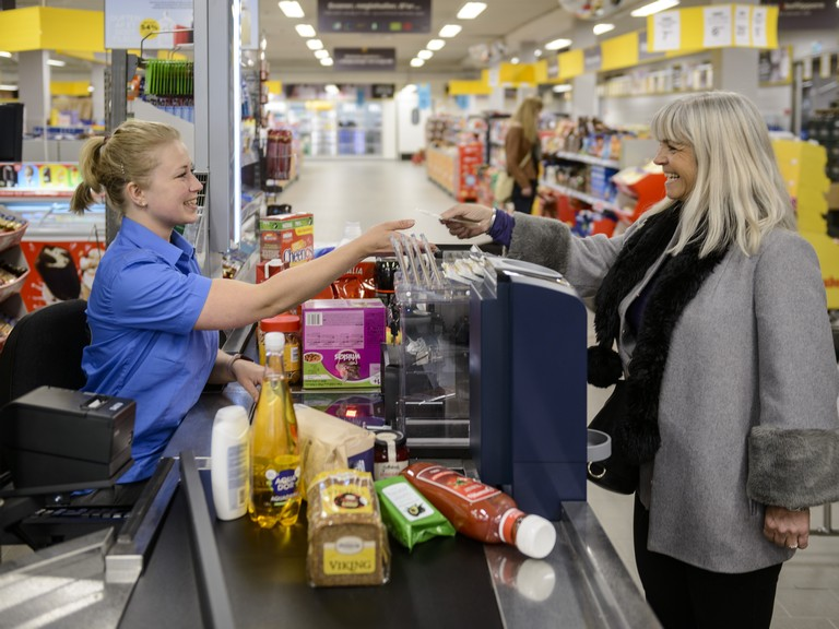 Safepay NR2. cash handling supermarkets