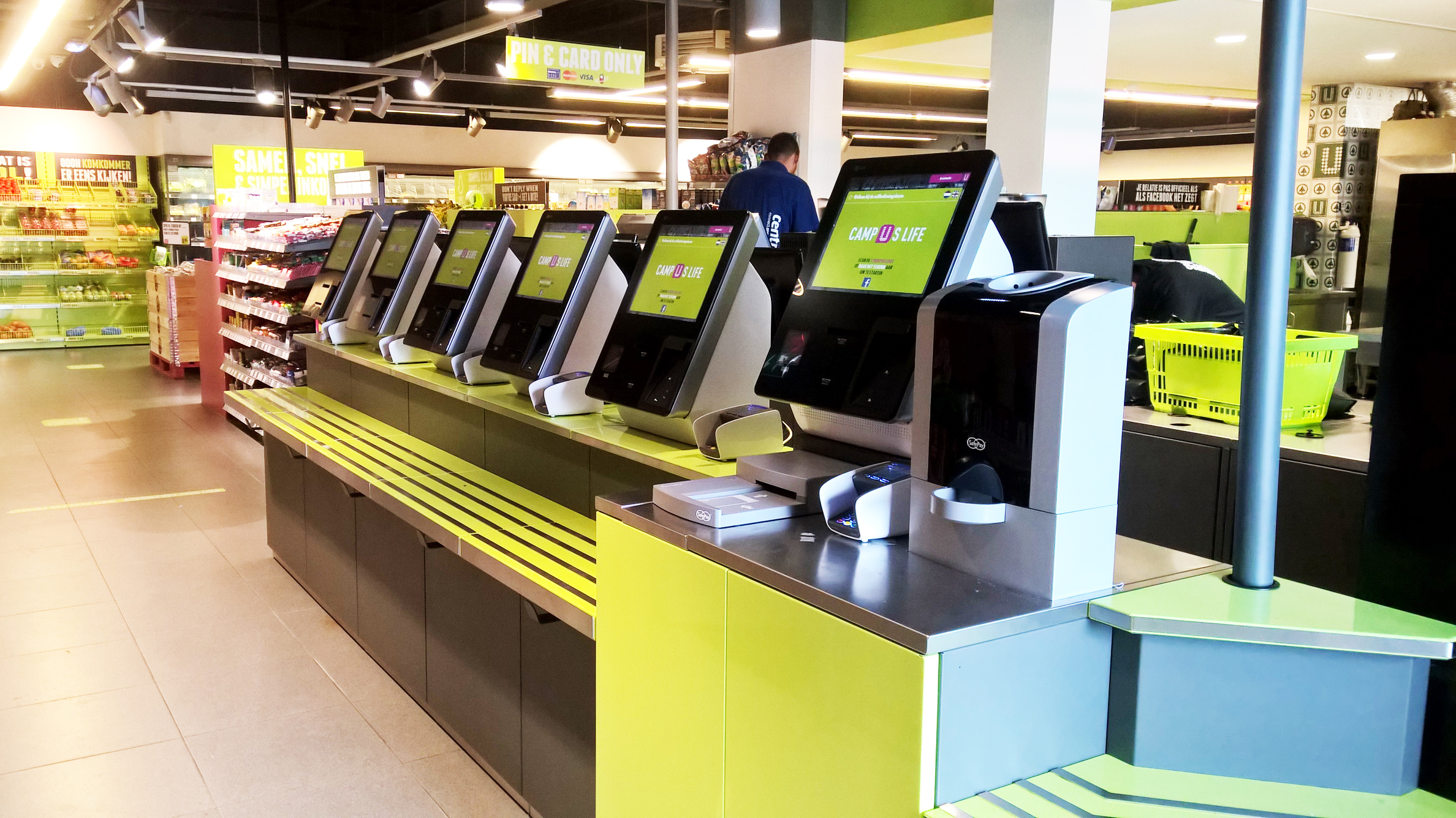 SafePay Casse di self checkout