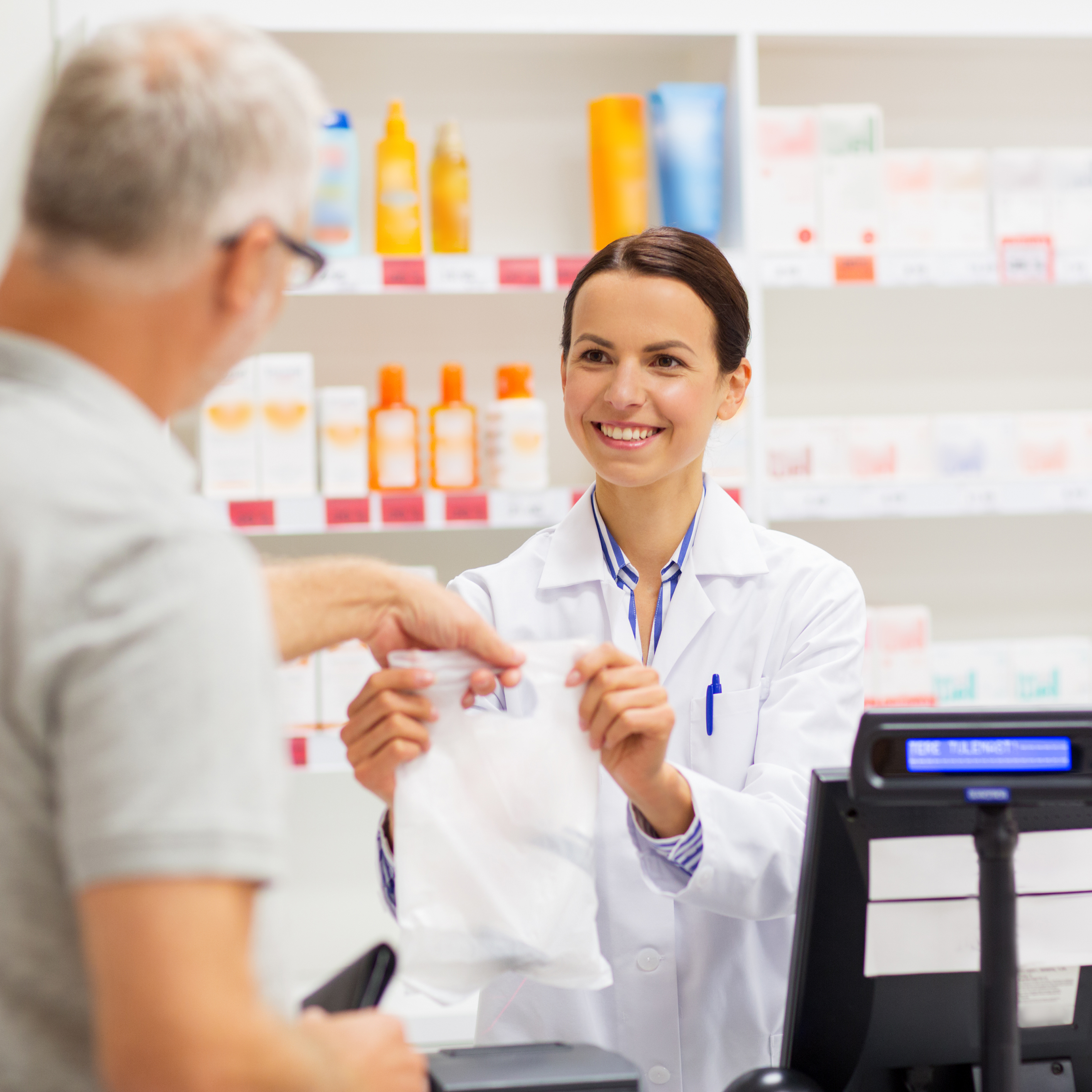 cash handling for pharmacies. Cash deposit