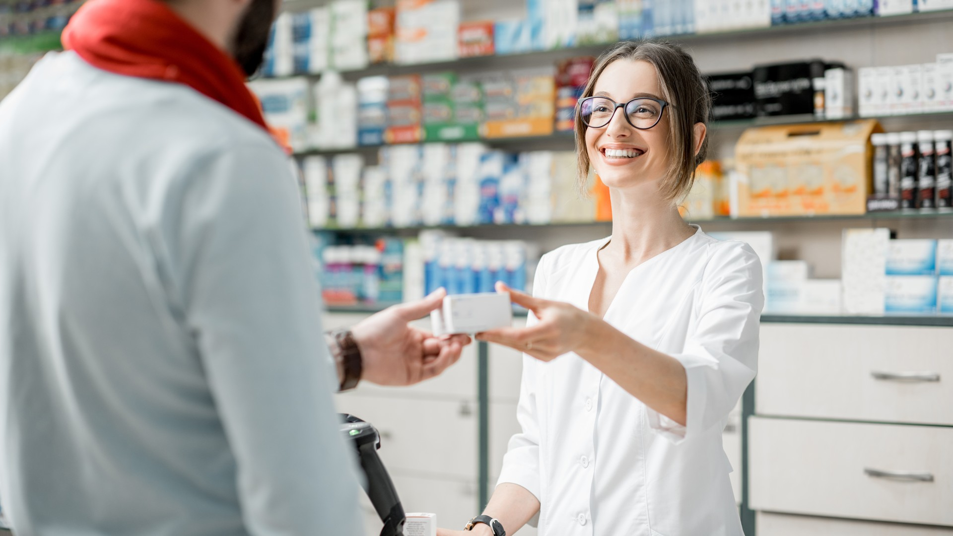 Pharmacies cash handling