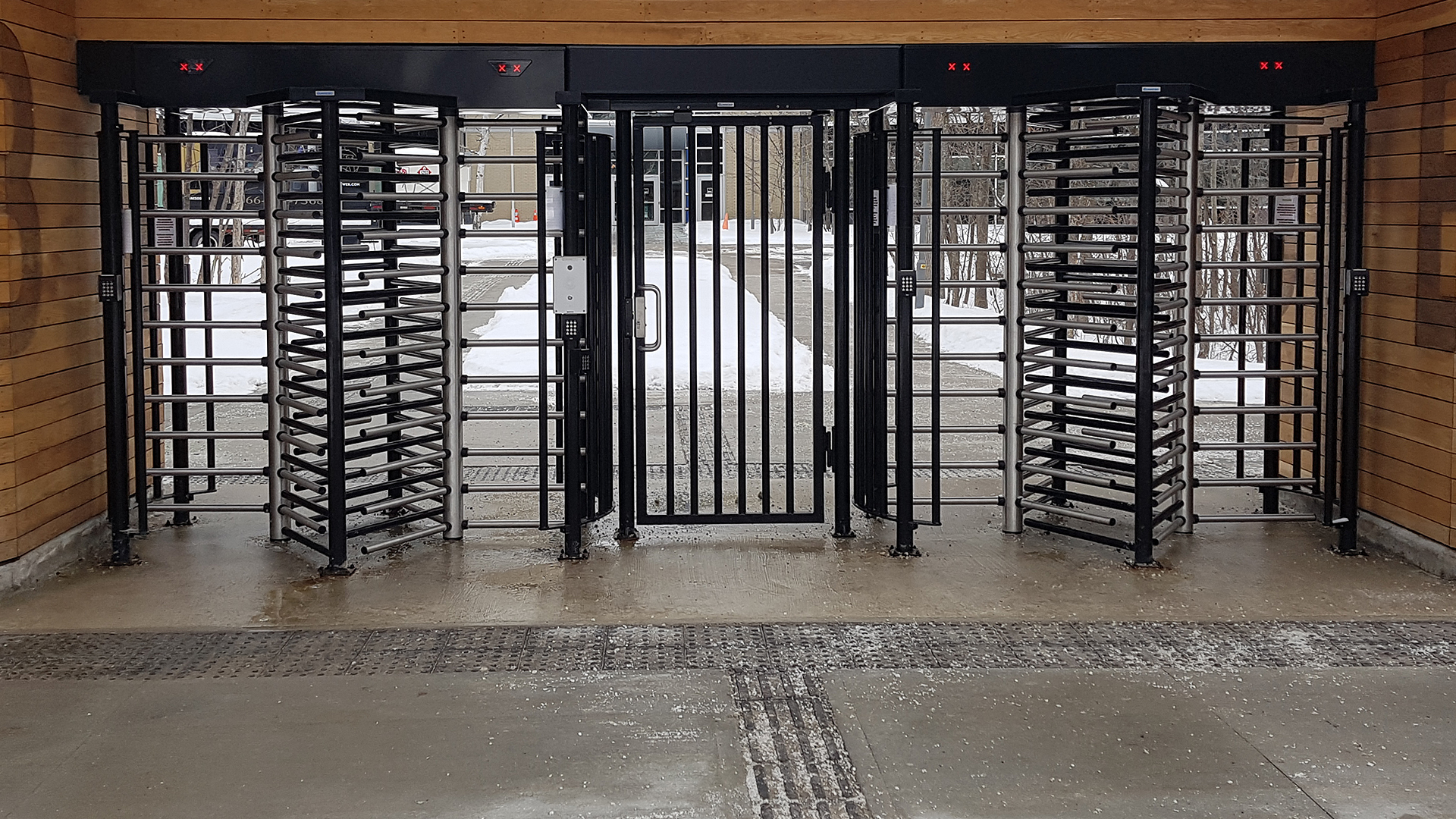 Gunnebo Full Height Turnstiles