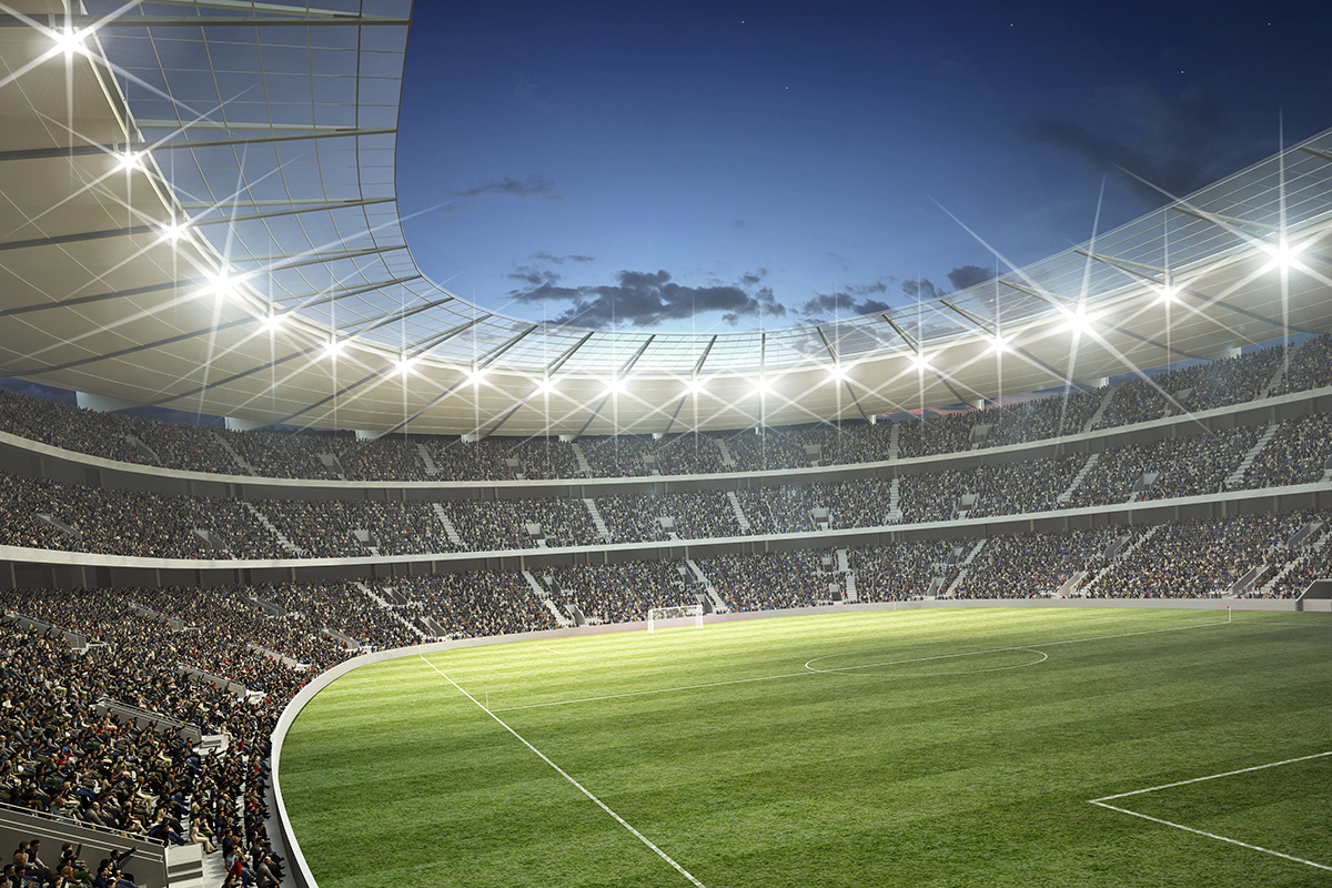 Football Stadiums and Sports Facilities