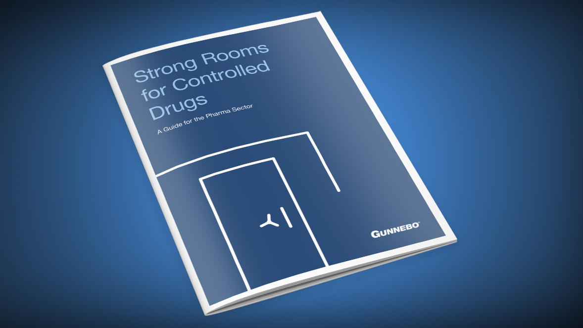 Strong rooms for controlled drugs: A guide for the pharma sector