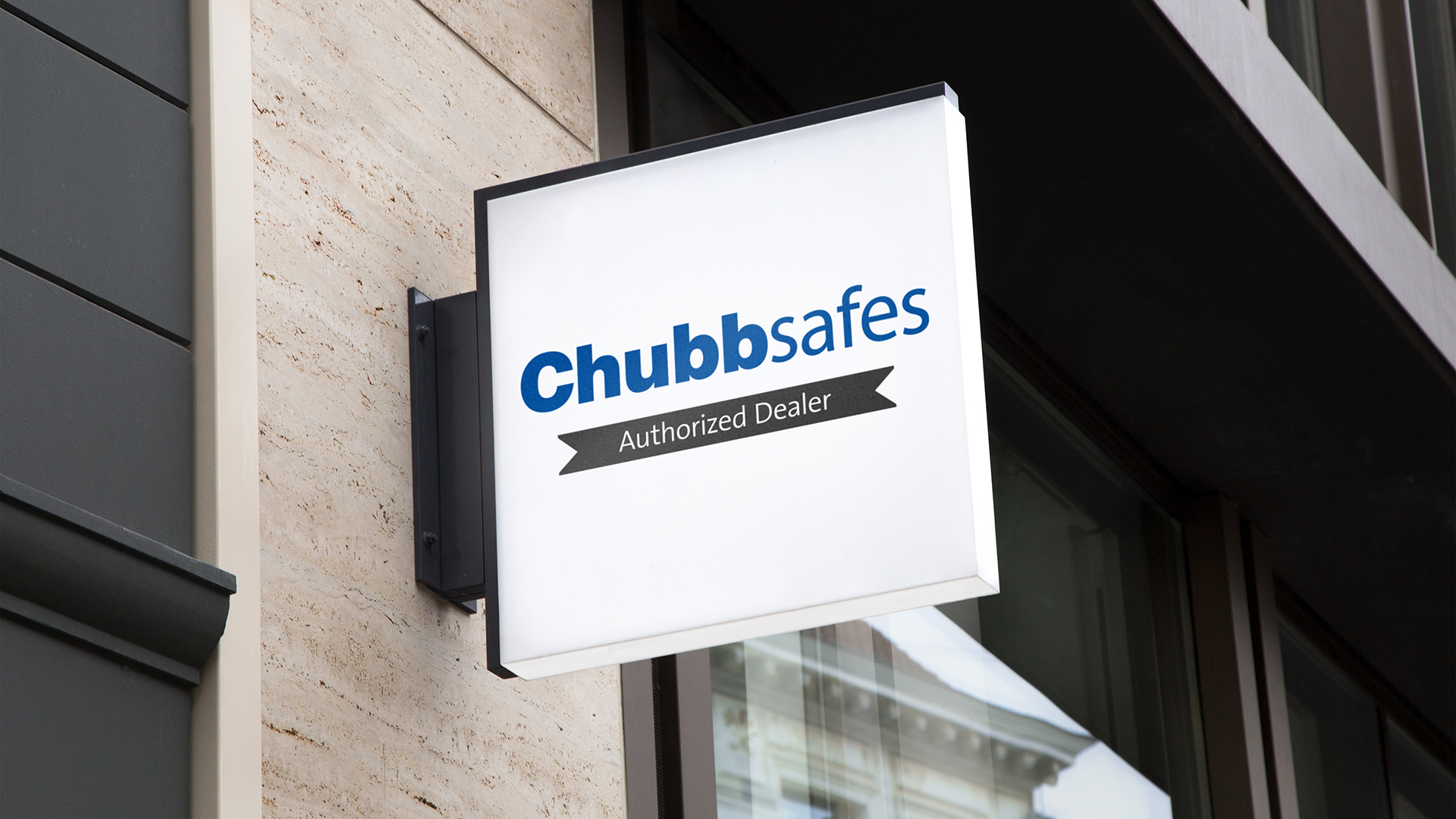 Chubbsafes Dealer Sign