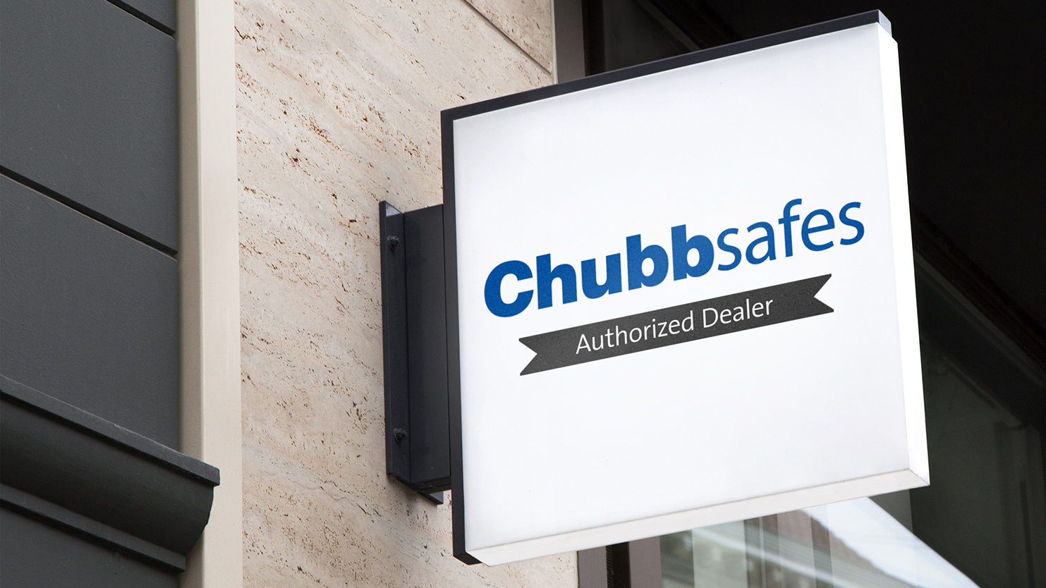 Chubbsafes Dealer Sign Hero Image