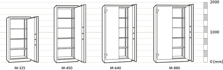Archive Cabinet - Technical Drawing