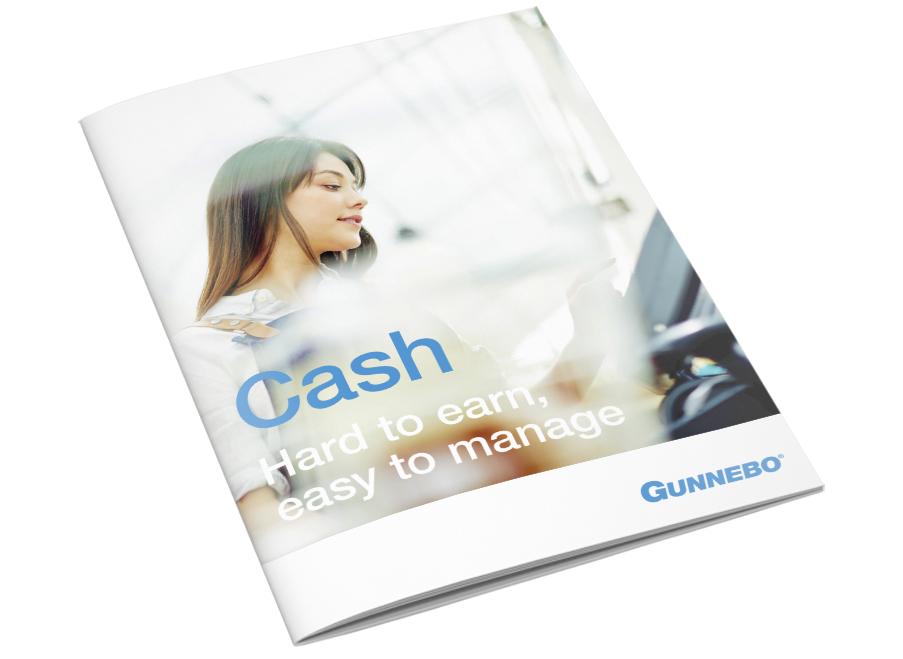 Retail brochure cash management