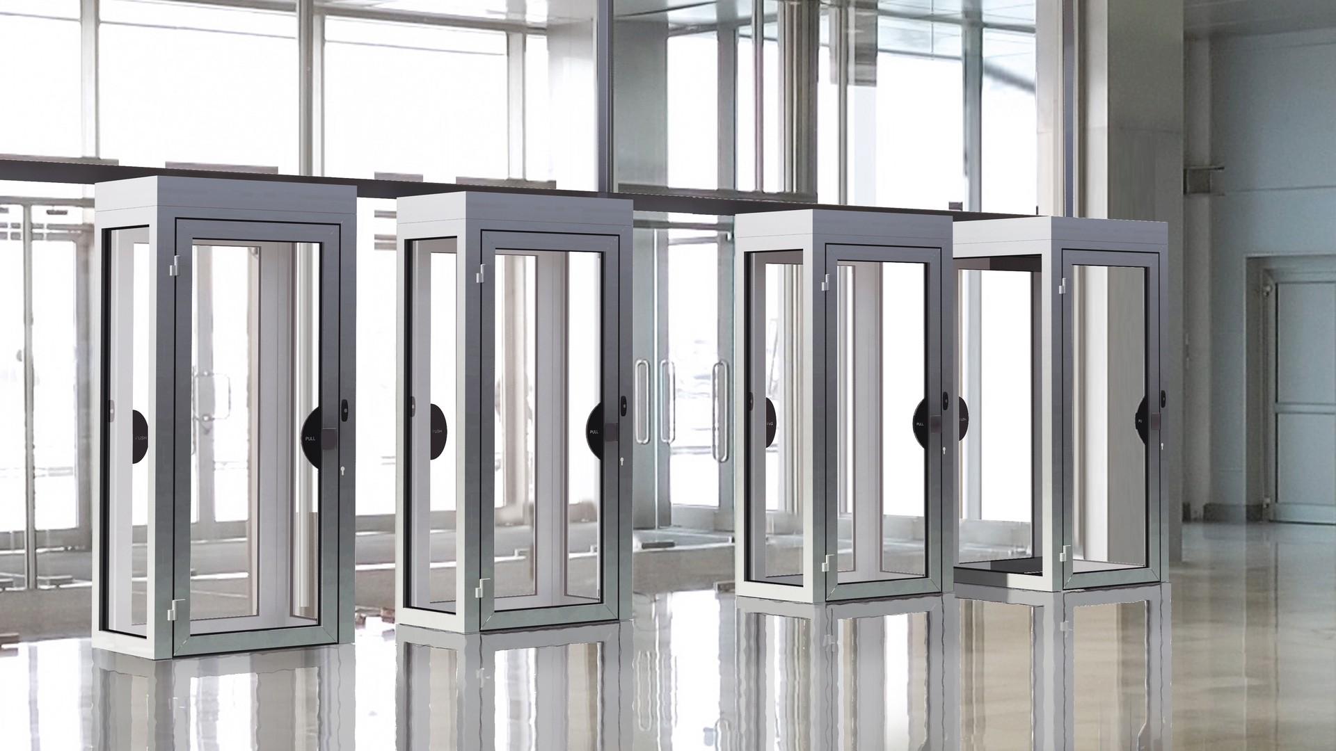 security doors, partitions, windows, interlocking doos