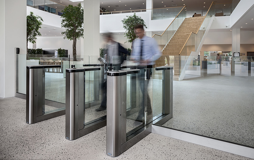 Gunnebo Entrance Control - Security Gates and Turnstiles