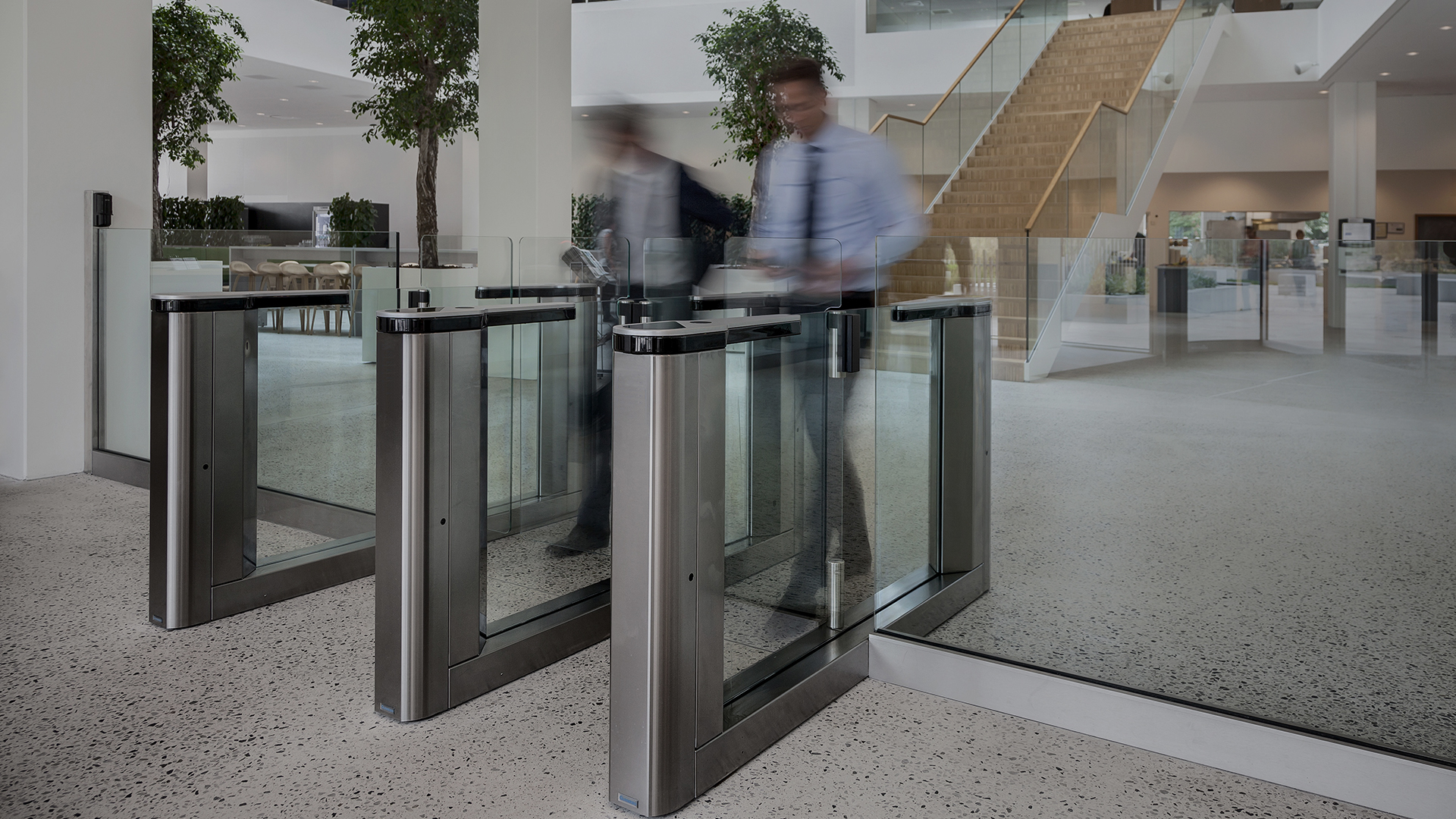 Gunnebo Entrance Security Gates and Turnstiles