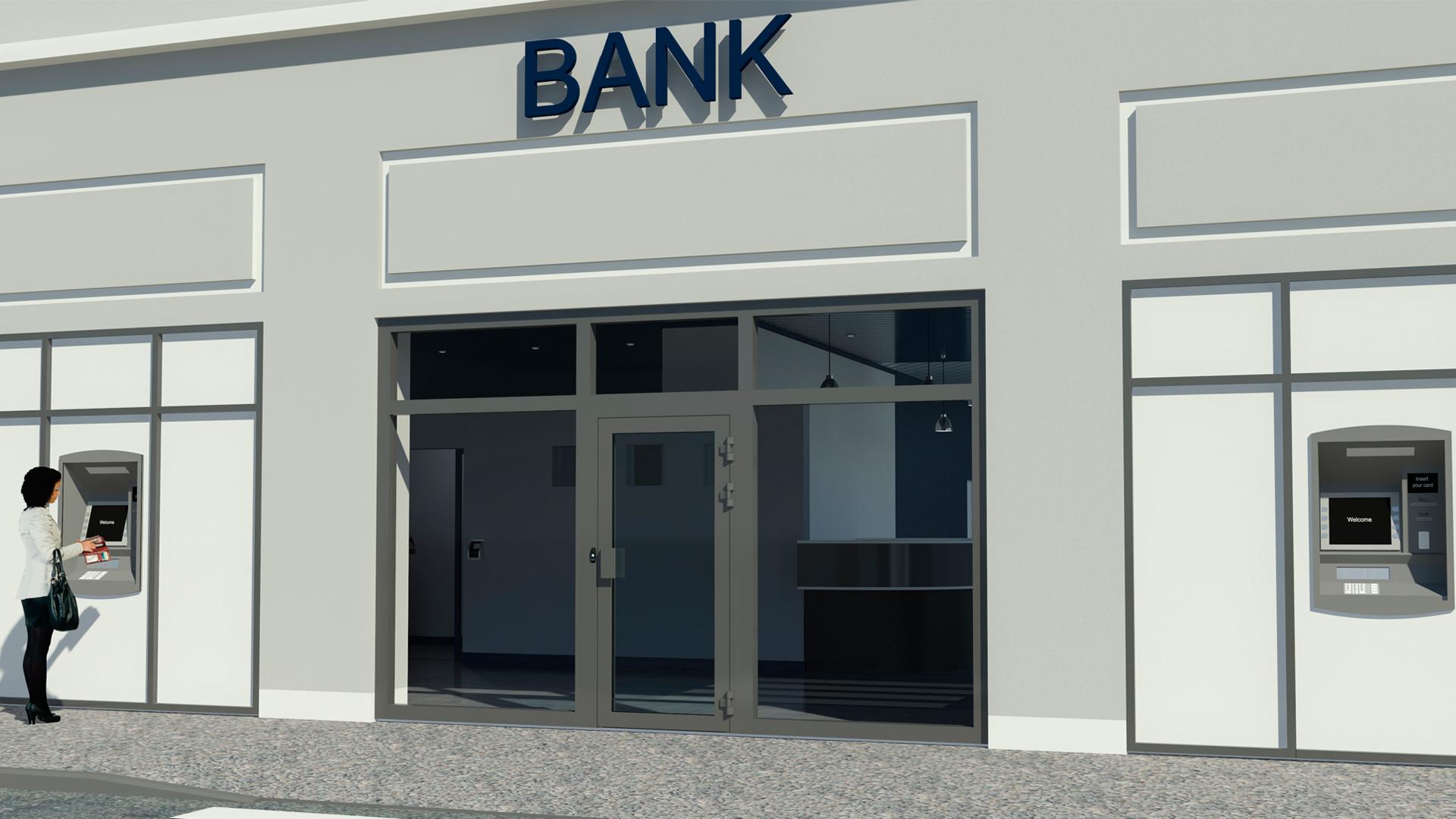 sikkerhets løsninger for bank, post og butikk