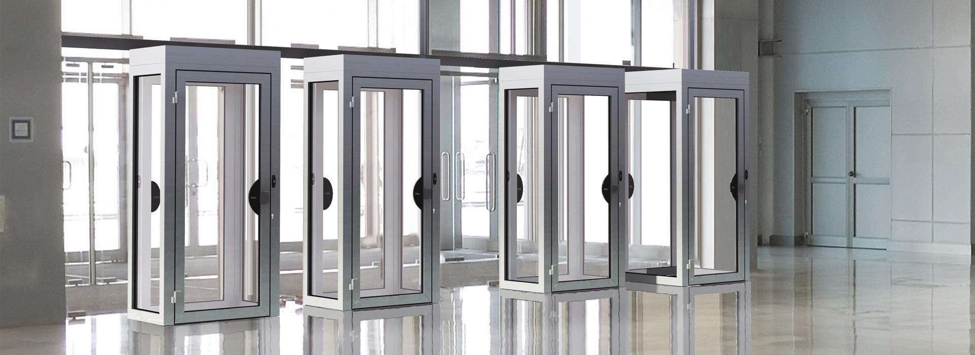 Śluzy osobowe dla podwyższenia poziomu bezpieczeństwa w biurowcach