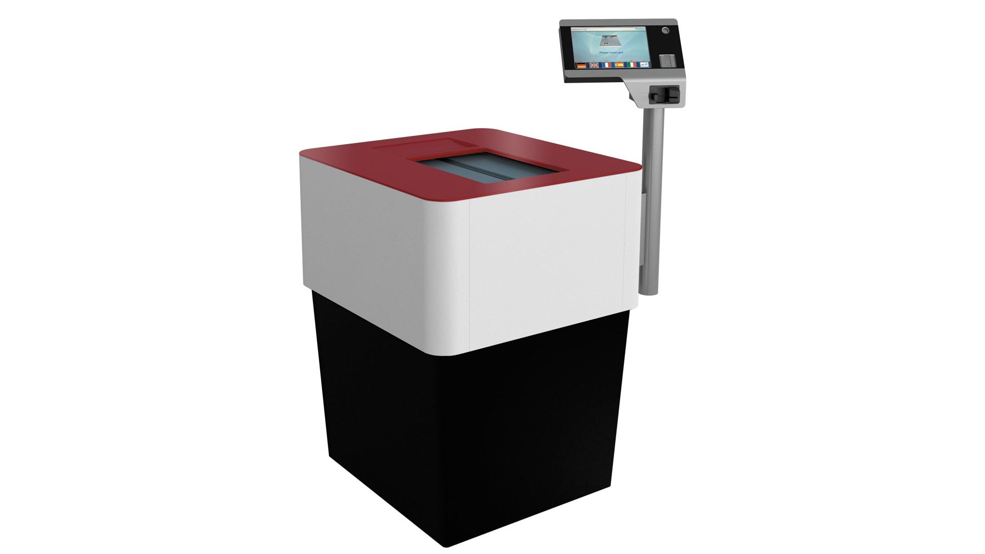 Automatyczne skrytki depozytowe SSA Maxi